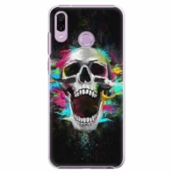 Plastové pouzdro iSaprio - Skull in Colors - Huawei Honor Play