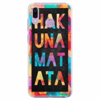Plastové pouzdro iSaprio - Hakuna Matata 01 - Huawei Honor Play