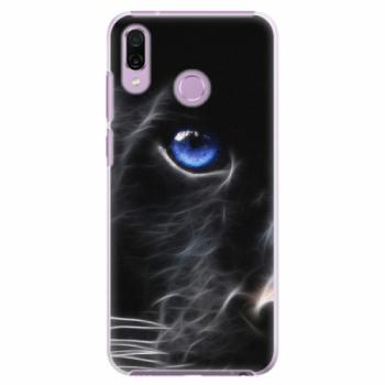 Plastové pouzdro iSaprio - Black Puma - Huawei Honor Play