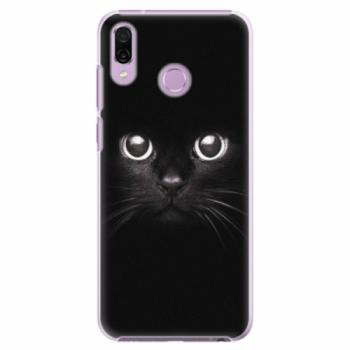 Plastové pouzdro iSaprio - Black Cat - Huawei Honor Play