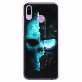 Plastové pouzdro iSaprio - Roboskull - Huawei Honor Play