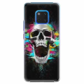 Plastové pouzdro iSaprio - Skull in Colors - Huawei Mate 20 Pro