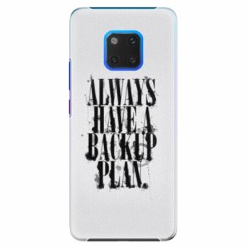 Plastové pouzdro iSaprio - Backup Plan - Huawei Mate 20 Pro