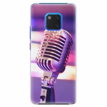 Plastové pouzdro iSaprio - Vintage Microphone - Huawei Mate 20 Pro