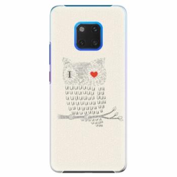 Plastové pouzdro iSaprio - I Love You 01 - Huawei Mate 20 Pro