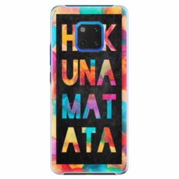Plastové pouzdro iSaprio - Hakuna Matata 01 - Huawei Mate 20 Pro