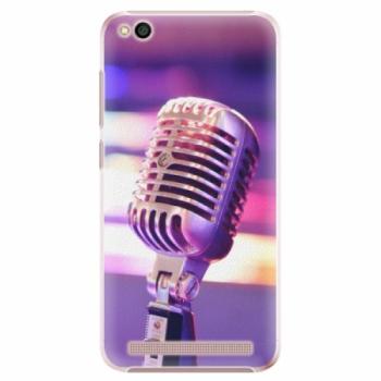 Plastové pouzdro iSaprio - Vintage Microphone - Xiaomi Redmi 5A