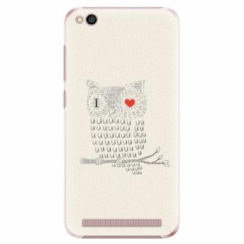 Plastové pouzdro iSaprio - I Love You 01 - Xiaomi Redmi 5A