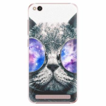Plastové pouzdro iSaprio - Galaxy Cat - Xiaomi Redmi 5A
