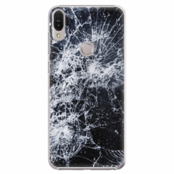 Plastové pouzdro iSaprio - Cracked - Asus Zenfone Max Pro ZB602KL