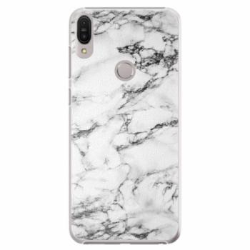 Plastové pouzdro iSaprio - White Marble 01 - Asus Zenfone Max Pro ZB602KL