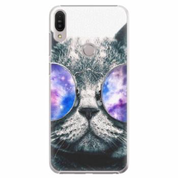 Plastové pouzdro iSaprio - Galaxy Cat - Asus Zenfone Max Pro ZB602KL
