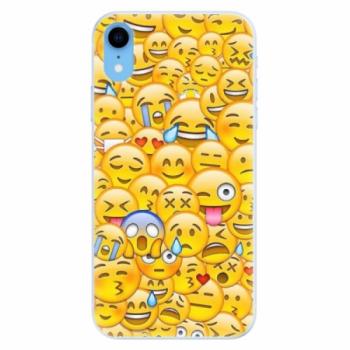 Silikonové pouzdro iSaprio - Emoji - iPhone XR