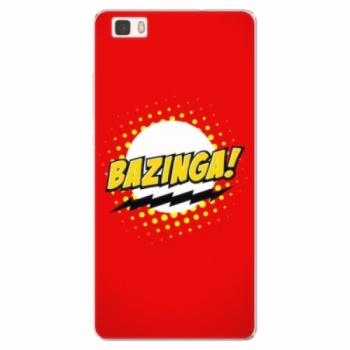 Silikonové pouzdro iSaprio - Bazinga 01 - Huawei Ascend P8 Lite