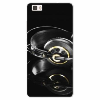 Silikonové pouzdro iSaprio - Headphones 02 - Huawei Ascend P8 Lite