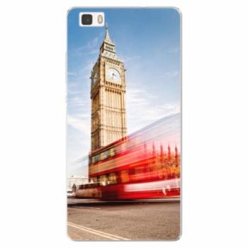 Silikonové pouzdro iSaprio - London 01 - Huawei Ascend P8 Lite