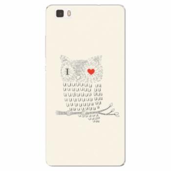 Silikonové pouzdro iSaprio - I Love You 01 - Huawei Ascend P8 Lite