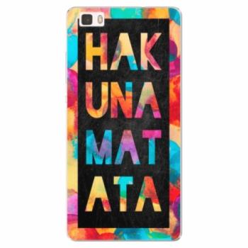 Silikonové pouzdro iSaprio - Hakuna Matata 01 - Huawei Ascend P8 Lite