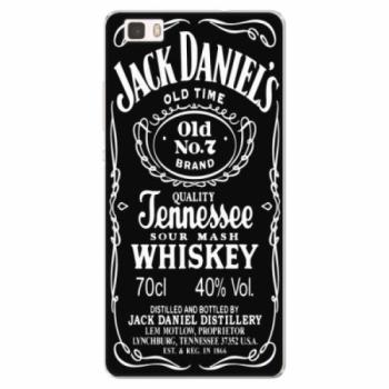 Silikonové pouzdro iSaprio - Jack Daniels - Huawei Ascend P8 Lite