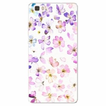 Silikonové pouzdro iSaprio - Wildflowers - Huawei Ascend P8 Lite