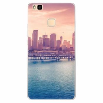 Silikonové pouzdro iSaprio - Morning in a City - Huawei Ascend P9 Lite