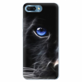 Silikonové pouzdro iSaprio - Black Puma - Huawei Honor 10