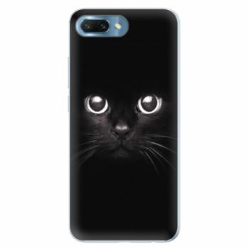 Silikonové pouzdro iSaprio - Black Cat - Huawei Honor 10