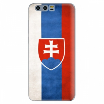 Silikonové pouzdro iSaprio - Slovakia Flag - Huawei Honor 9