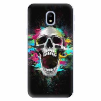 Silikonové pouzdro iSaprio - Skull in Colors - Samsung Galaxy J3 2017