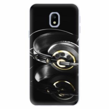 Silikonové pouzdro iSaprio - Headphones 02 - Samsung Galaxy J3 2017