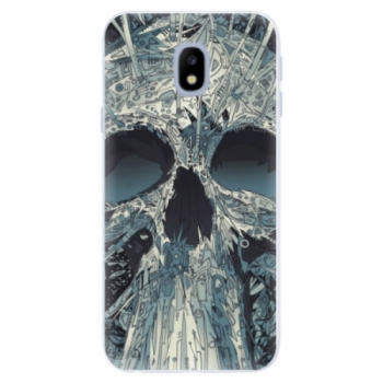 Silikonové pouzdro iSaprio - Abstract Skull - Samsung Galaxy J3 2017