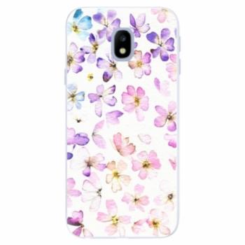 Silikonové pouzdro iSaprio - Wildflowers - Samsung Galaxy J3 2017