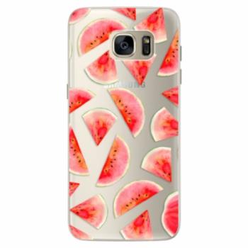Silikonové pouzdro iSaprio - Melon Pattern 02 - Samsung Galaxy S7 Edge