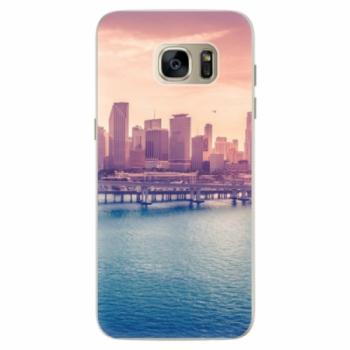 Silikonové pouzdro iSaprio - Morning in a City - Samsung Galaxy S7 Edge