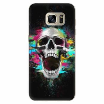 Silikonové pouzdro iSaprio - Skull in Colors - Samsung Galaxy S7 Edge