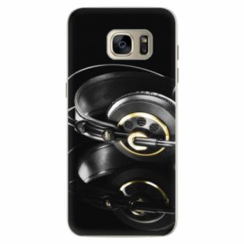 Silikonové pouzdro iSaprio - Headphones 02 - Samsung Galaxy S7 Edge