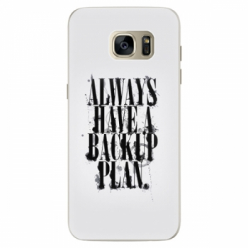 Silikonové pouzdro iSaprio - Backup Plan - Samsung Galaxy S7 Edge