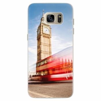 Silikonové pouzdro iSaprio - London 01 - Samsung Galaxy S7 Edge