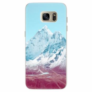 Silikonové pouzdro iSaprio - Highest Mountains 01 - Samsung Galaxy S7 Edge