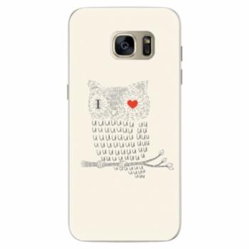 Silikonové pouzdro iSaprio - I Love You 01 - Samsung Galaxy S7 Edge