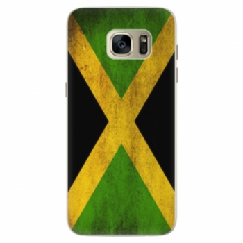 Silikonové pouzdro iSaprio - Flag of Jamaica - Samsung Galaxy S7 Edge