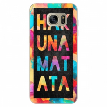 Silikonové pouzdro iSaprio - Hakuna Matata 01 - Samsung Galaxy S7 Edge