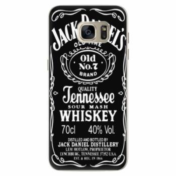 Silikonové pouzdro iSaprio - Jack Daniels - Samsung Galaxy S7 Edge