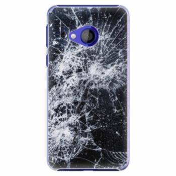 Plastové pouzdro iSaprio - Cracked - HTC U Play