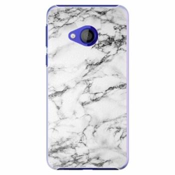Plastové pouzdro iSaprio - White Marble 01 - HTC U Play