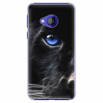 Plastové pouzdro iSaprio - Black Puma - HTC U Play
