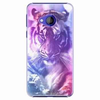 Plastové pouzdro iSaprio - Purple Tiger - HTC U Play
