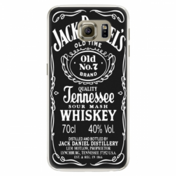 Silikonové pouzdro iSaprio - Jack Daniels - Samsung Galaxy S6 Edge