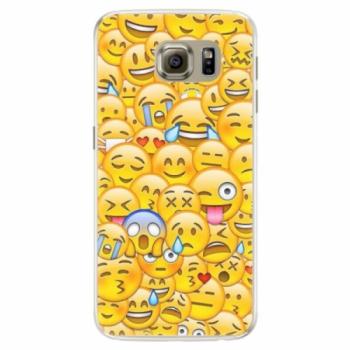 Silikonové pouzdro iSaprio - Emoji - Samsung Galaxy S6 Edge
