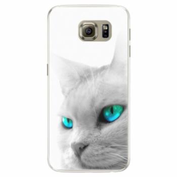 Silikonové pouzdro iSaprio - Cats Eyes - Samsung Galaxy S6 Edge